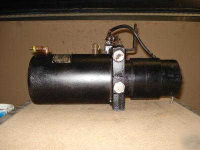 Hydraulic 12 Volt Electric Pump