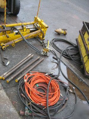 Powermole Pd 4 Pipe Pusher Puller Hydraulic