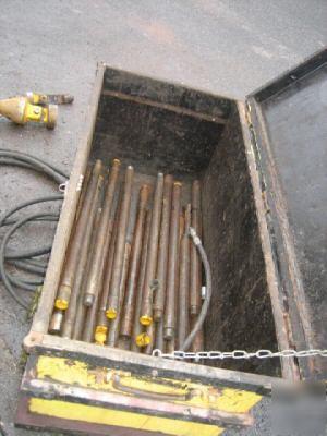 Powermole Pd 4 Pipe Pusher Puller Hydraulic