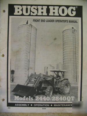 Bush Hog 2400 Qt Loader Bush Hog 2400 QT Tractor Loaders John Deere