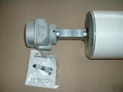 New sparks dura drive drum drive motorized pulley 1 hp for Dura drive drum motor