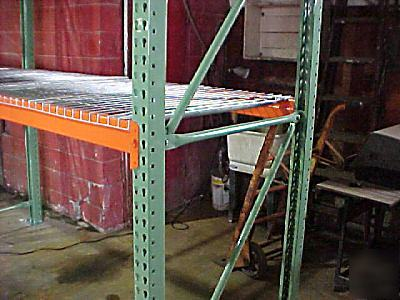 New 42 Quot X 192 Upright 3x3 Pallet Rack Racking Uprights