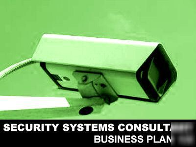 Security systems business plan
