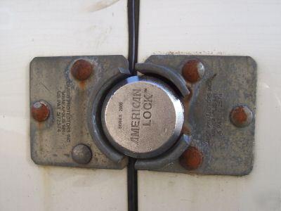 3 American Series 2000 Padlock Locks Keyed Same Lock