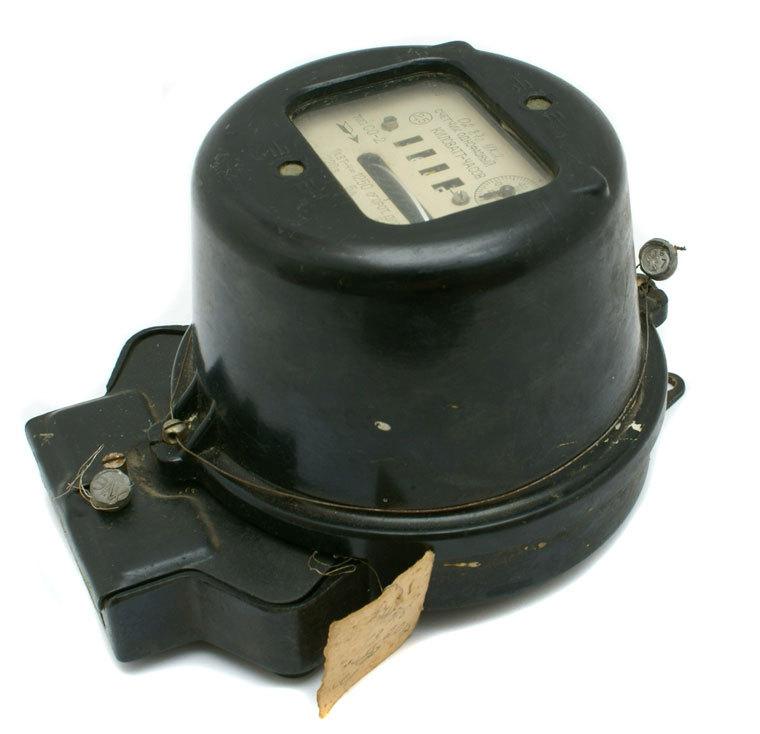 Antique Watt Meter : Bakelite vintage electric watt hour meter russia