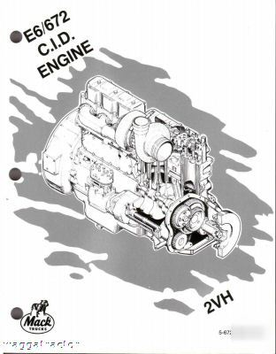 12 volt series wiring diagrams on headlight mack e6 2v truck engine workshop repair service manual #11
