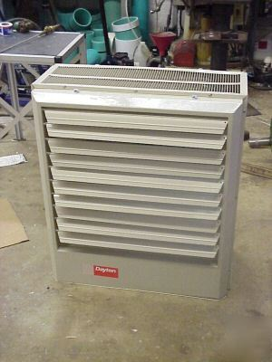 Dayton 30 Kw 480vac 3 Phase Electric Heater Unit 2yu78