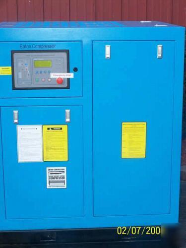 Eaton Industrial True 25 Hp Rotary Screw Air Compressor