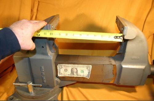 Vise Large Columbian Wilton 206m3 Pipe Bench Swivel Wow