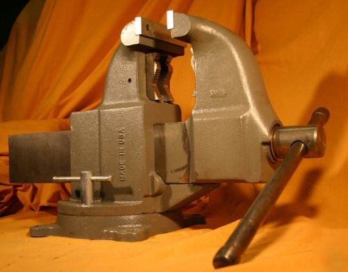 Vise Large Columbian Wilton 206m3 Pipe Bench Swivel Wow