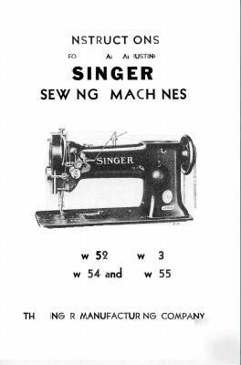 Singer Repair Manual