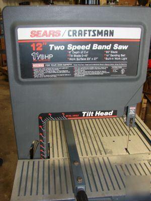 craftsman 12 inch band saw blades. craftsman 12 2 speed bandsaw inch band saw blades o