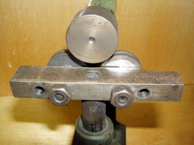 Cute Vintage Antique Rod Tube Sheet Metal Roller Bender
