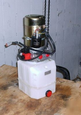 Hydraulic Power Unit Double Acting Power Up Power Dn