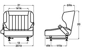 how to open the seat on a toyota forklift