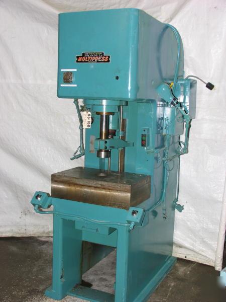 15 Ton Denison C Frame Hydraulic Press