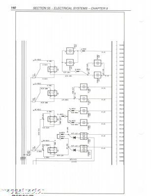 new holland nh tm115 thru tm165 tractor workshop manual hydraulic power unit wiring diagram