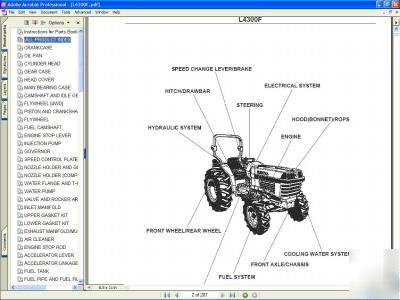 Kubota L F X Tractor Parts Manual Adpic Php on Kubota Front End Loader Parts Diagram