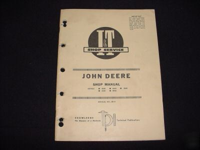 similiar john deere 4440 manual keywords john deere repair manual 4040 4240 4440 4640 4840