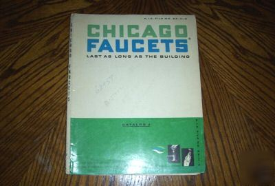 1966 Chicago Faucets Catalog J Illustrated