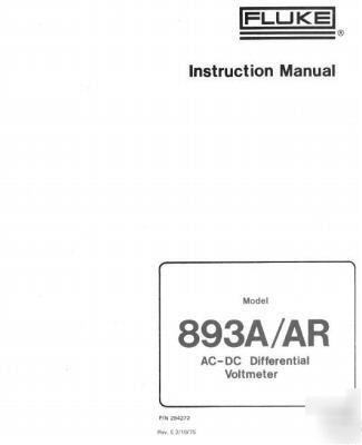 Fluke 164 Service Manual