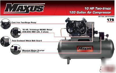 Acura Chicago on Auto Compressor Installation On Maxus 10 Hp 120 Gallon Horiz 2 Stage
