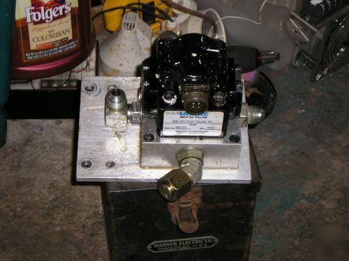 Vickers servo proportional valve 4 way hydraulic torque