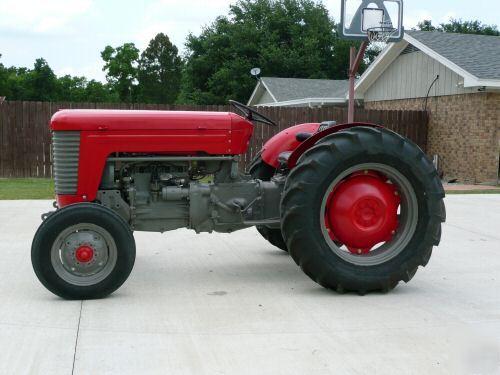 1957 Massey Ferguson Tractor 35 Hp Gas Mf 50